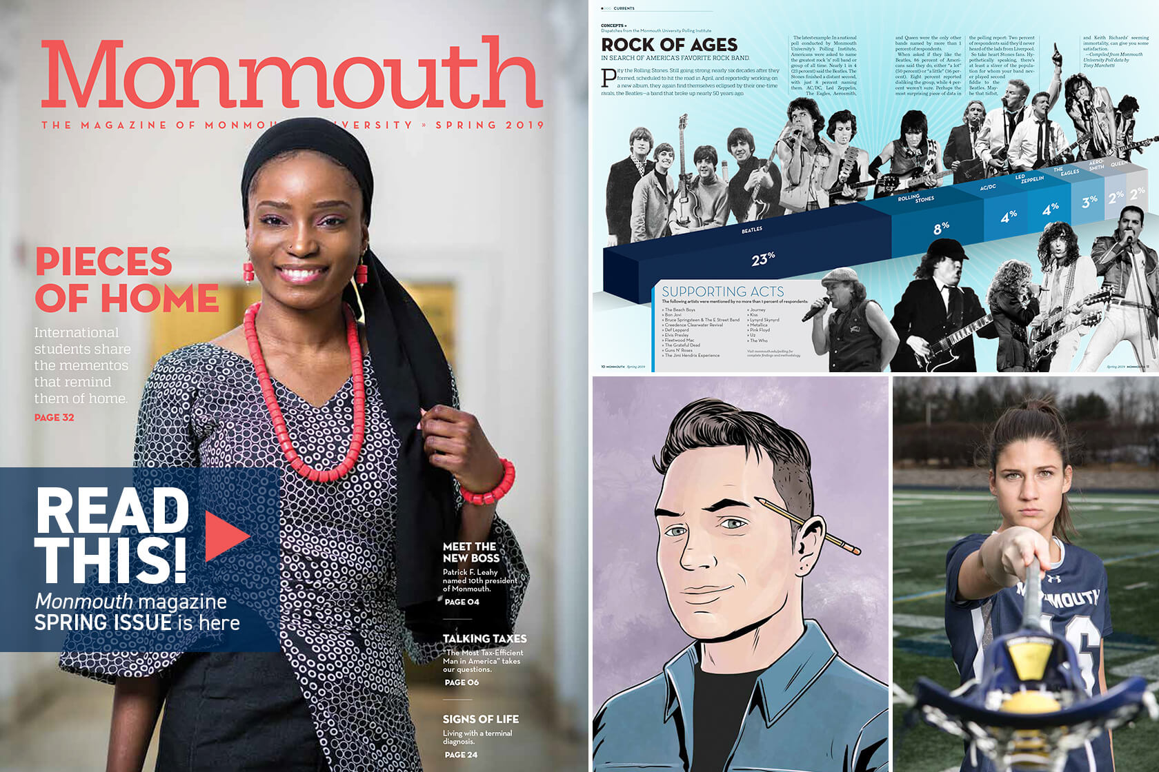 Read This, the Monmouth magazine spring issue is here!