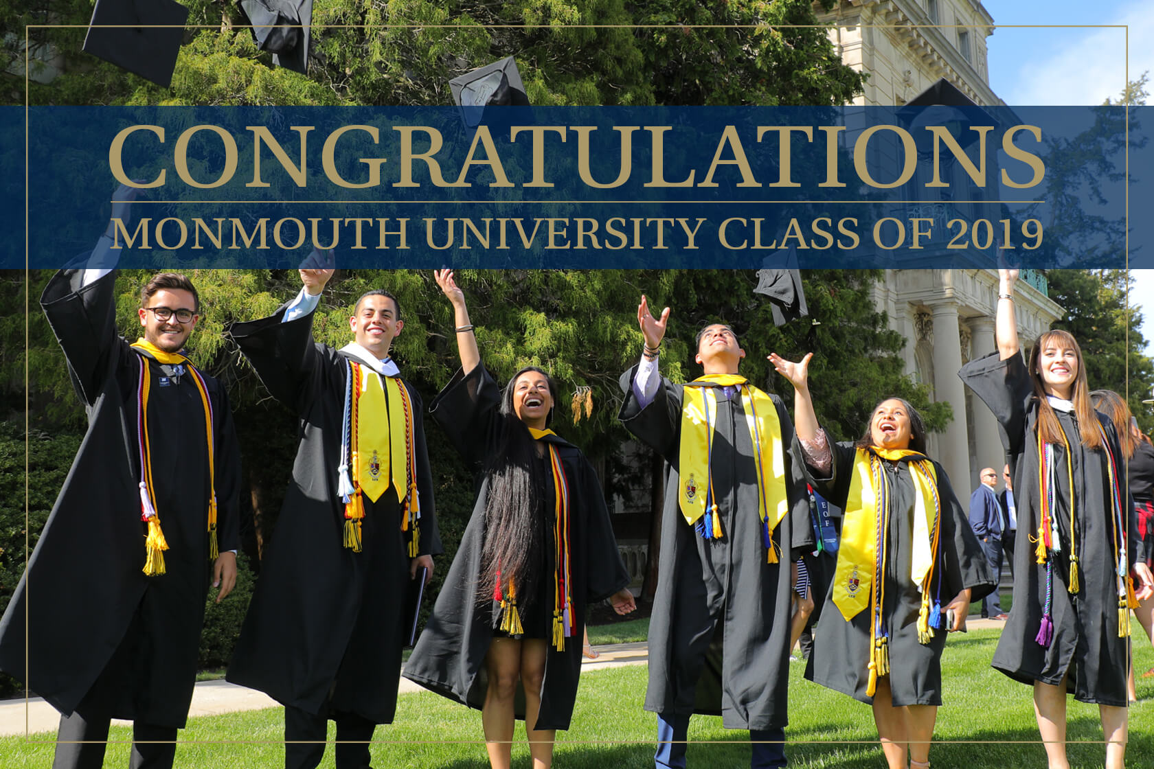Congratulationas Monmouth University Class of 2019