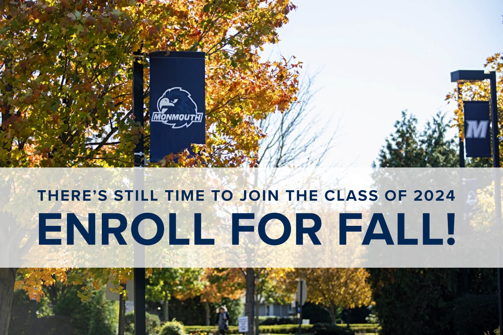 There's still time to join the class of 2024, enroll for fall! Deposit deadline extend to June 1.