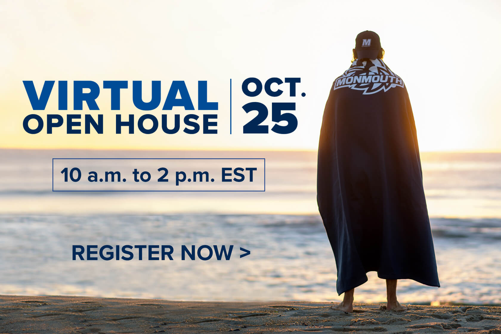 Register now for our virtual open house on October 25