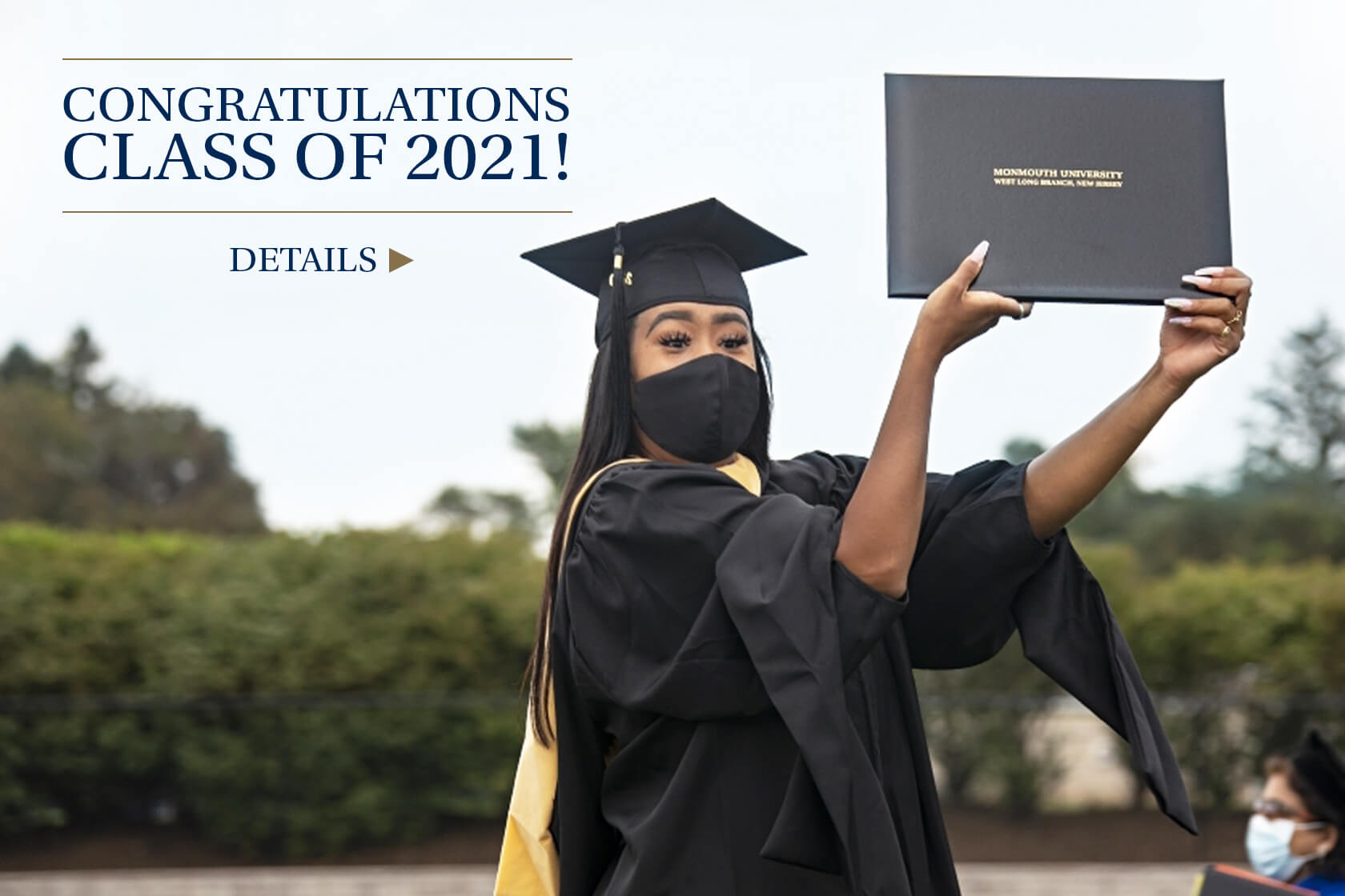 Congratulations to the class of 2021! Get more details