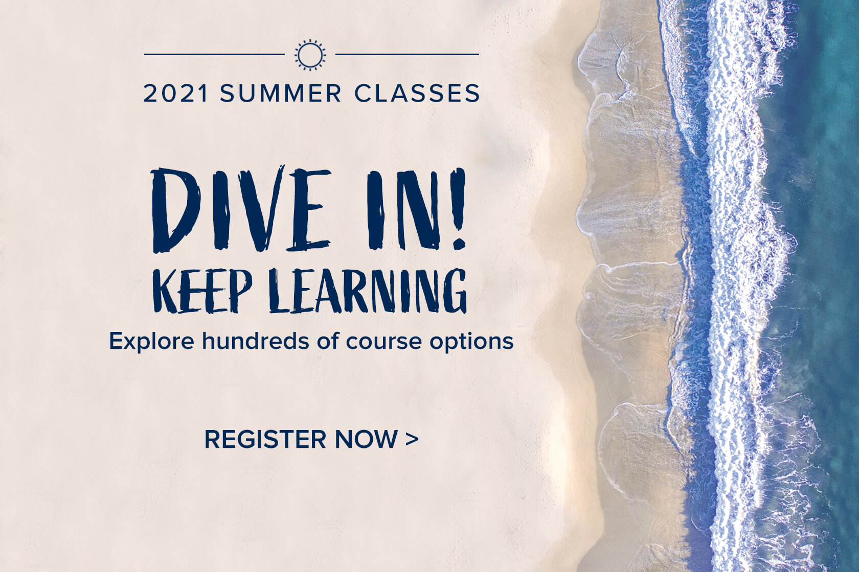 Click or tap to learn more about 2021 Summer Classes at Monmouth University