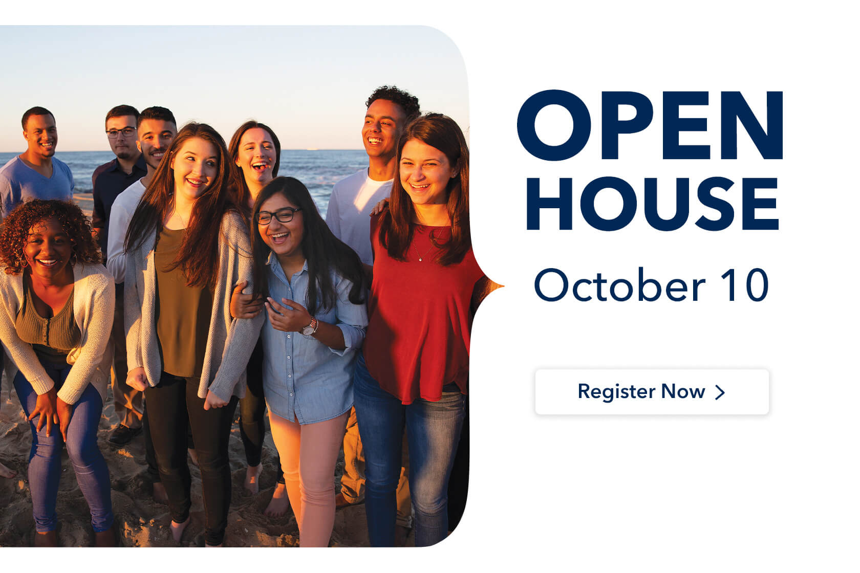 Register Now for Open House, October 10