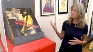 Eileen Chapman, director of the Bruce Springsteen special collection at Monmouth University