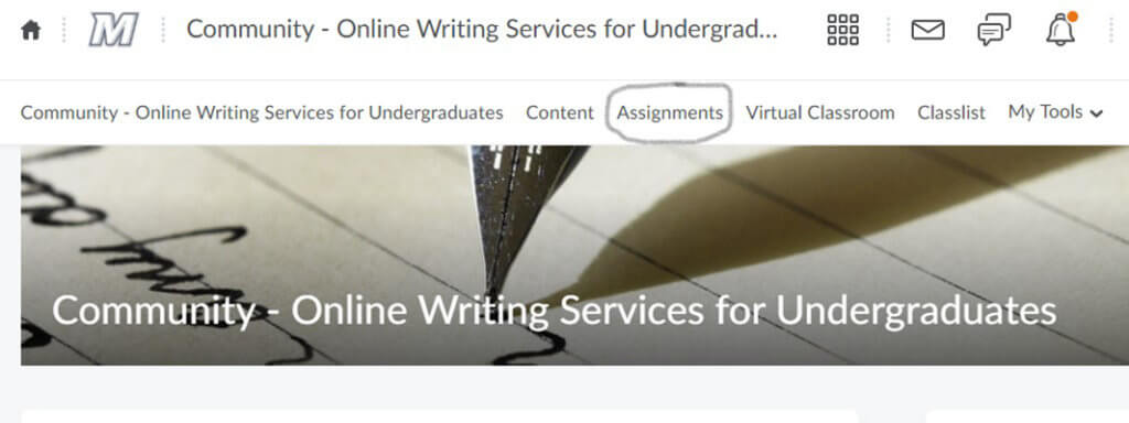 Screen Shot 7 - How to Make an Appointment with Writing Services